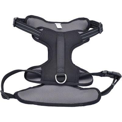 Coastal Reflective Control Handle Harness Black Extra Large - 06989BKX