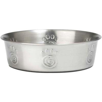 Petrageous Designs Stainless Steel Bowl  Holds 2Qt Cayman - 60049