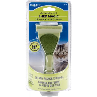 Safari Shed Magic De Shedding Tool For Cats Medium/Long Hair - W6128
