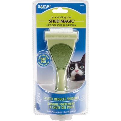 Safari Shed Magic De Shedding Tool For Cats Short/Medium Hair - W6328