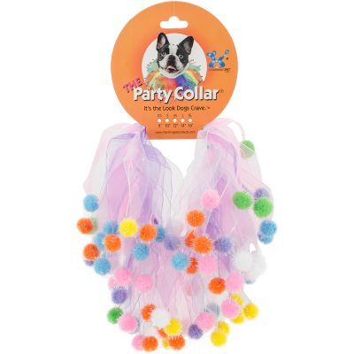 Charming Pet Party Collars Birthday Extra Small 8