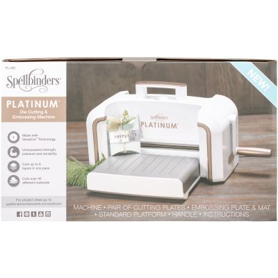Spellbinders Platinum Cut & Emboss Machine  - PL001
