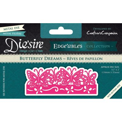 Die'Sire Edge'Ables Cutting & Embossing Die Butterfly Dreams - DEDGE-BUT