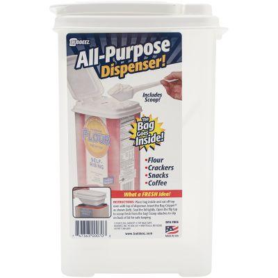 Buddeez 3.75Qt Bag In Flour Dispenser W/Scoop 10