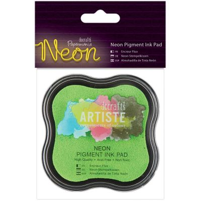Artiste Neon Pigment Ink Pad Green - PM550104