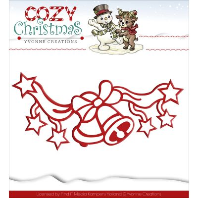 Find It Trading Yvonne Creations Cozy Christmas Die Jingle Bells - YCD10037
