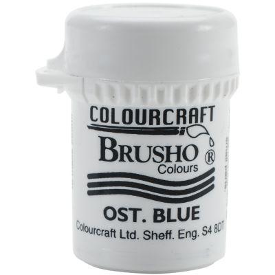 Brusho Crystal Colour 15G Ost. Blue - BRB12-OB