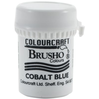 Brusho Crystal Colour 15G Cobalt Blue - BRB12-CB