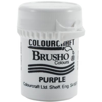 Brusho Crystal Colour 15G Purple - BRB12-P
