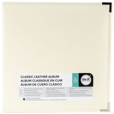 We R Classic Leather D Ring Album 8.5