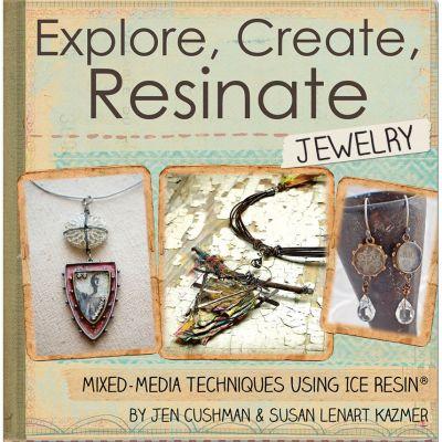 Ice Resin Mixed Media Technique Book Explore, Create, Resinate Jewelry - IRA49982