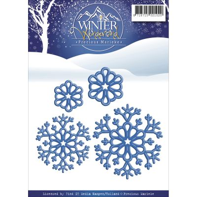 Find It Trading Precious Marieke Winter Wonderland Die Snowflakes - PM10051