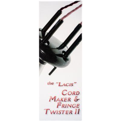 Lacis Cord Maker & Fringe Twister Ii 2 4 Ply - IG05