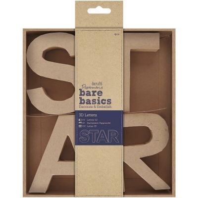 Papermania Bare Basics Kraft Chipboard 4