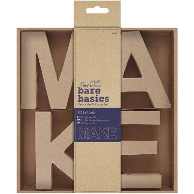 Papermania Bare Basics Kraft Chipboard 4