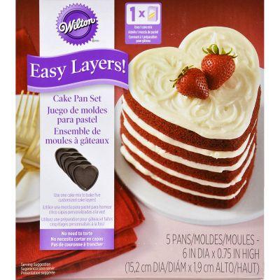 Easy Layers! (Tm) Cake Pan Heart - W5495