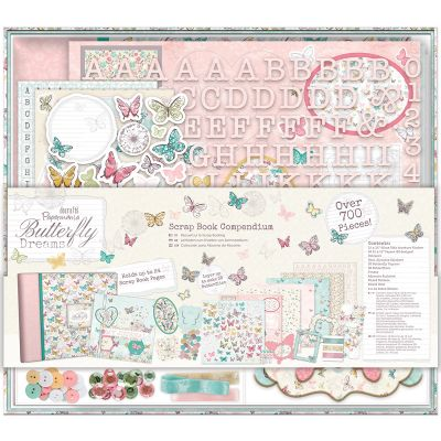 Papermania Butterfly Dreams Compendium Scrapbook - PM105151
