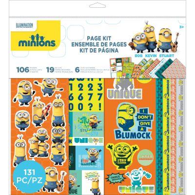Minions Page Kit 12