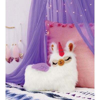 Sew Your Own Furry Llama Pillow Book Kit-