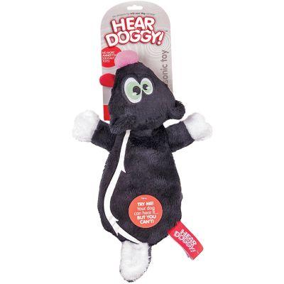 Hear Doggy Flattie Black Skunk - 58513