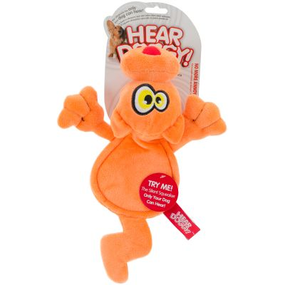 Hear Doggy Flattie Orange Cat - 58516