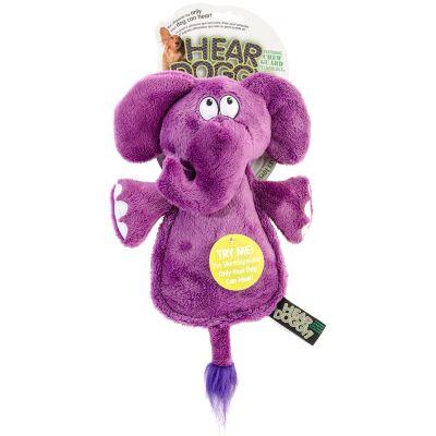 Hear Doggy Flattie With Chew Guard Elephant - 58547
