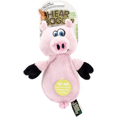 Hear Doggy Flattie With Chew Guard Pig - 770301