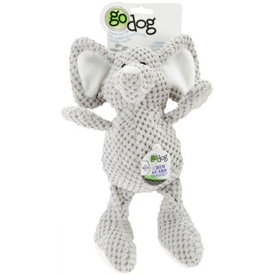 Godog Checkers With Chew Guard Small Elephant - 770963