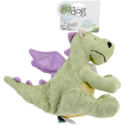 Godog Dragons With Chew Guard Large Lime - 770639
