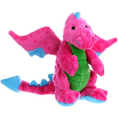 Godog Dragons With Chew Guard Large Pink - 770972