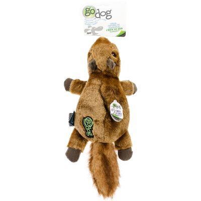 Godog Flatz With Chew Guard Large Squirrel - 770283