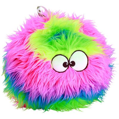 Godog Furballz With Chew Gurad Small Rainbow - 773036