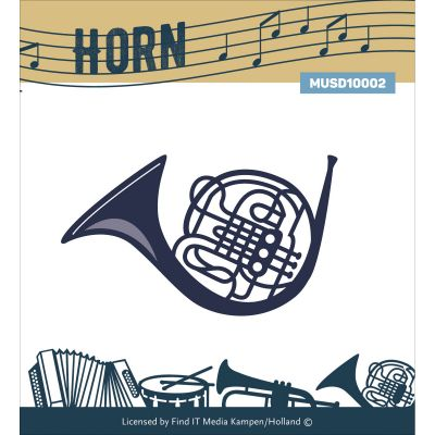 Find It Trading Music Series Die Horn - MUS10002