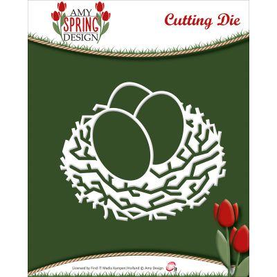 Find It Trading Amy Design Spring Die Bird Nest - ADD10045