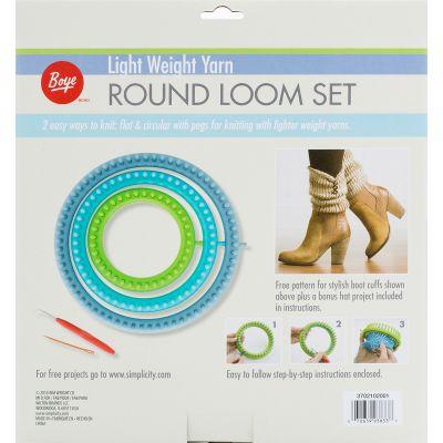 Boye Circular Fine Loom Set  - 102001M