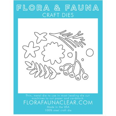 Flora & Fauna Dies Flower Cluster - FF30026