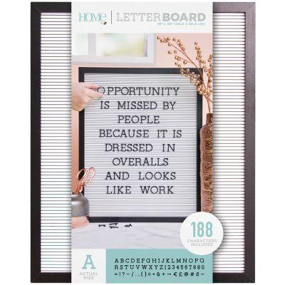 Dcwv Framed Letterboard 16