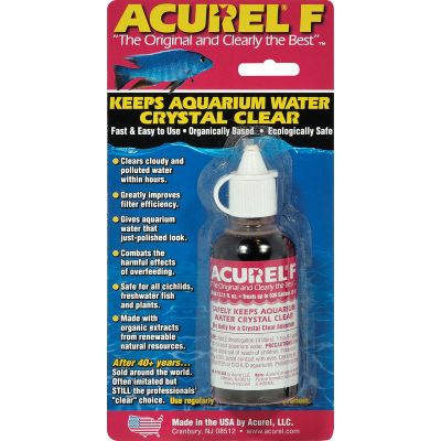 Acurel F Water Clarifier 25Ml Treats 265 Gallons - F25