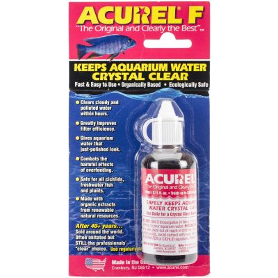 Acurel F Water Clarifier 50Ml Treats 530 Gallons - F50