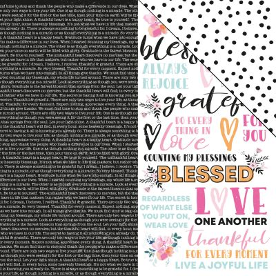 Blessed Double-Sided Cardstock 12