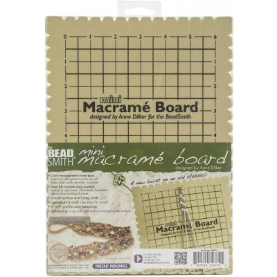 Mini Macrame Project Board-7.5
