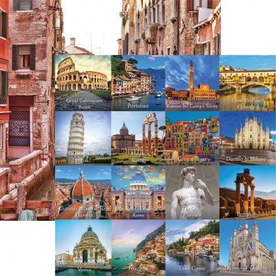 Italy Double-Sided Cardstock 12