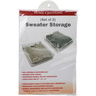 Innovative Home Creations Sweater Storage Bags 2pc 24/Pk-12