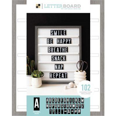 DCWV Sliding Letterboard 16