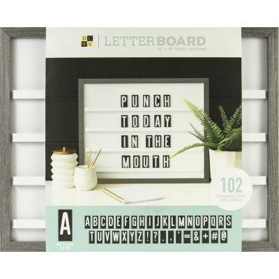 DCWV Sliding Letterboard 20