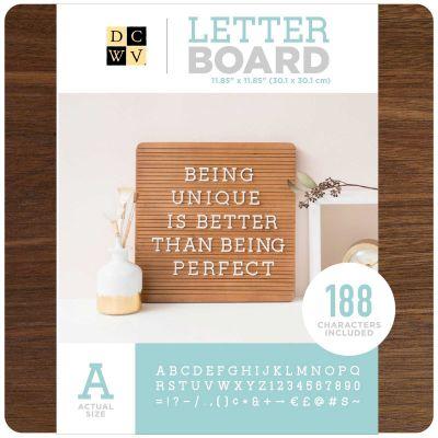 DCWV Frameless Letterboard 12