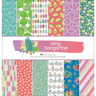 American Crafts Single-Sided Paper Pad 12