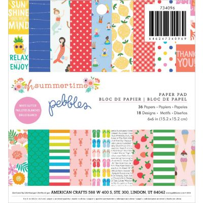 Pebbles Single-Sided Paper Pad 6