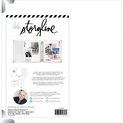 Heidi Swapp Storyline 3 D-Ring Album 8.5