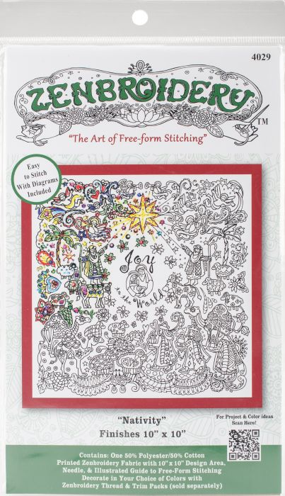 Design Works/Zenbroidery Stamped Embroidery 10